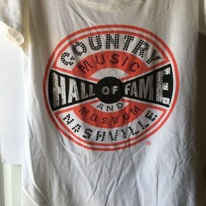 Nashville Country Music Hall a Fame T-shirt